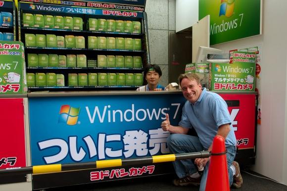 Linus recomienda Windows7