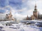 Кремлёвская долина - Зима