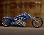 Yamaha-Chopper-blue