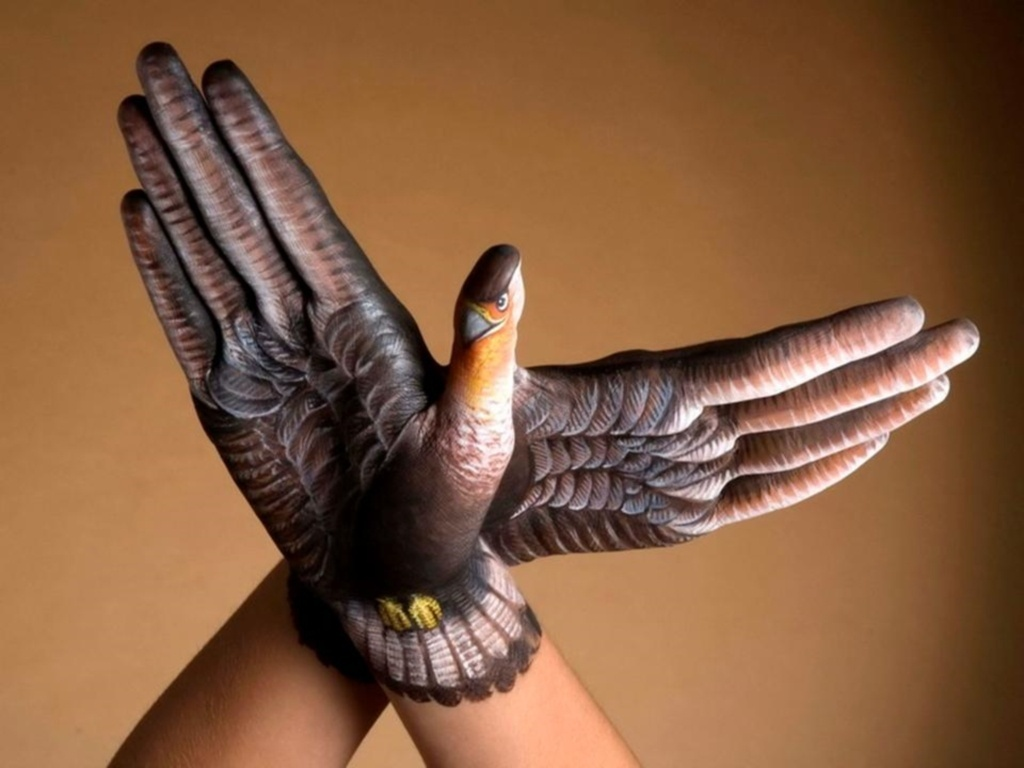 "Wallpapers Alucinantes Sobre ""Body Art Animals"""