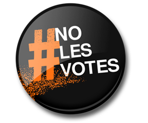 ¡No les votes!